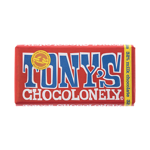 荷蘭Tony s Chocolonely牛奶巧克力180g