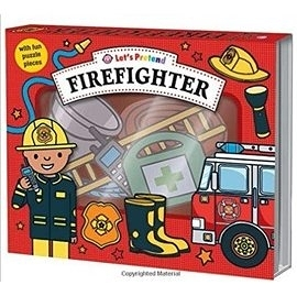 【拼圖遊戲盒】LETS PRETEND: FIREFIGHTER