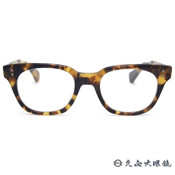 DITA 頂級眼鏡品牌 DRX2048 (琥珀) 全框 近視眼鏡 久必大眼鏡