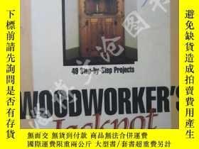 二手書博民逛書店Woodworker s罕見Jackpot:49 Step By