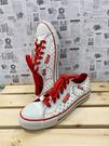 【震撼精品百貨】Hello Kitty 凱蒂貓~台灣製Hello kitty正版成人帆布鞋-紅白色(23~25號)