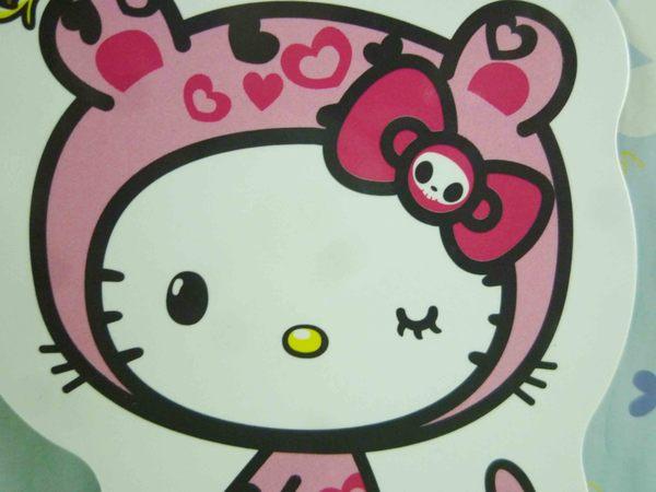 【震撼精品百貨】Hello Kitty 凱蒂貓~造型磁鐵~粉豹紋【共1款】