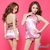 角色扮演情趣內睡衣專賣情趣用品【Gaoria】上海之戀 柔緞美背旗袍裝 性感情趣睡衣