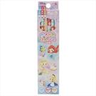 KAMIO JAPAN 6角軸鉛筆組12入 迪士尼公主 Q版女孩_KM83588
