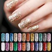 美潮光療膠指甲膠亮片加固可卸光療指甲油漸變甲油美甲彩膠