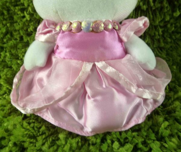 【震撼精品百貨】Hello Kitty 凱蒂貓~KITTY絨毛娃娃-粉禮服