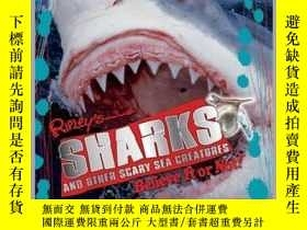 二手書博民逛書店Ripley罕見Twists PB: Sharks and Other Scary Sea Creatures