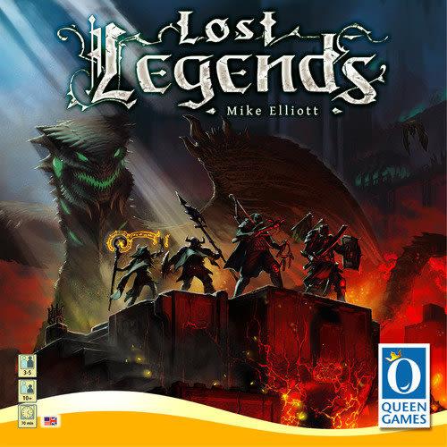 『高雄龐奇桌遊』 失落的傳說 Lost Legends ★正版桌上遊戲專賣店★