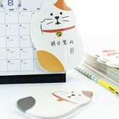 【BlueCat】日式右手招財貓可站立便利貼 便條紙 N次貼