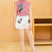 絲襪女薄款夏季白色連褲襪夏天打底褲菠蘿襪跳舞舞蹈襪子 至簡元素