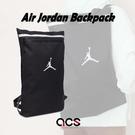 Nike 後背包 Air Jordan Backpack 黑 銀 男女款 喬丹 手提 雙肩背 運動休閒 【ACS】 JD2123013GS-001