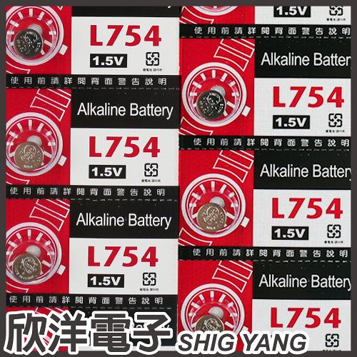 VINNIC 鈕扣電池 1.5V / L754 (393) 水銀電池
