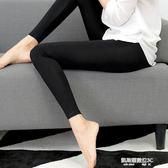 打底褲女薄款外穿秋九分大碼顯瘦彈力小腳褲純棉修身長褲  凱斯盾數位3C