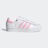 Adidas Originals Superstar W [FU7444] 女鞋 運動 休閒 慢跑 百搭 愛迪達 白粉