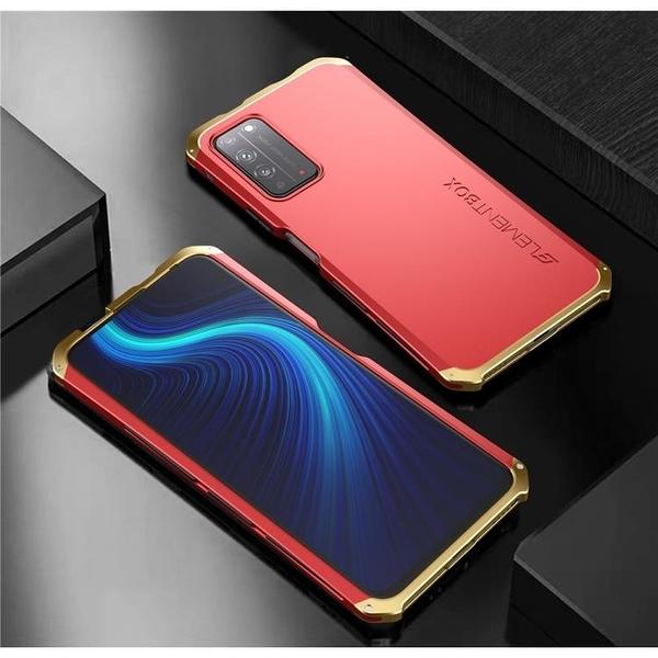 華為 榮耀X10 金屬手機殼 SOLACE TPU 金屬邊框 個性創意保護套
