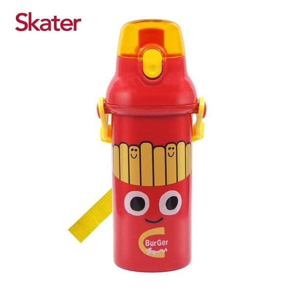 Skater 銀離子直飲水壺(480ml)BURGER CONX薯條弟[衛立兒生活館]