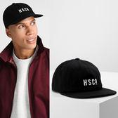 Hsin 75折 現貨 Herschel Mosby Unstructured Snapback Hat 全黑 可調 環扣 LOGO 老帽 鴨舌帽 帽子