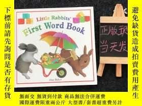二手書博民逛書店Little罕見Rabbits First Word Book(英文原版兒童繪本 精裝)Y364544 Ala