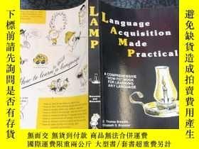 二手書博民逛書店Language罕見Acquisition Made Practical(語言習得實用化)Y288507 E.