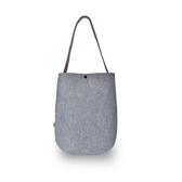 (五折)M.R.K.T. Soren Shoulder Bag 簡約重磅毛氈布設計款側背包-535190C GREY(灰色)
