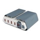美國TYLT Charging Station 多孔行動充電座 5孔usb充電器 全電壓 行動電源 強強滾生活市集