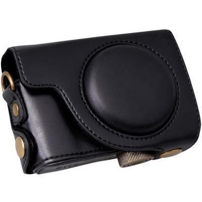 for Canon S100 / S110 / S120 / S200 專用 手工 復古 皮套 皮質 相機包