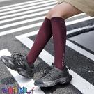 中筒襪襪子女白色小腿襪夏季薄款黑色長襪子女夏天日系字母中筒及膝襪ins街頭【寶貝 新品】