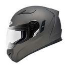 [東門城] ZEUS ZS813 消光黑銀 全罩式安全帽 內藏式鏡片 內襯全可拆洗