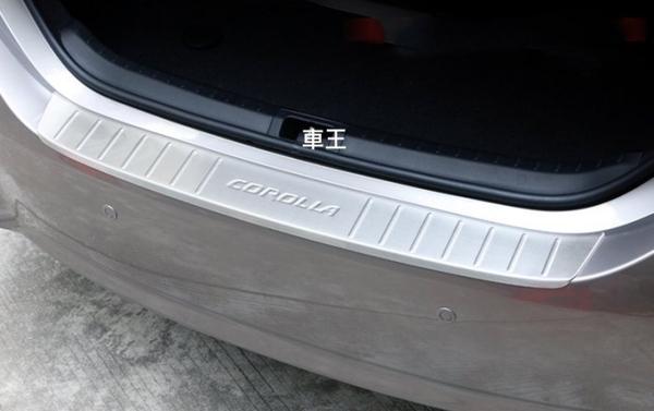 【車王汽車精品百貨】豐田 Toyota Altis 11代 11.5代 後護板 防刮板 後踏板 後外護板