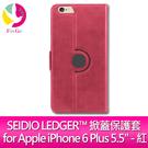 SEIDIO LEDGER™ 掀蓋保護套 for Apple iPhone 6 Plus 5.5 - 紅