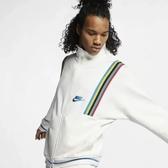 Nike Sportswear French Terry 1988彩虹 白色 立領 外套 男 (布魯克林) 2019/1月 AR1868-133