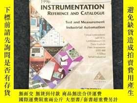 二手書博民逛書店NATIONAL罕見INSTRUMENTS:1996 INSTRUMENTATON REFERENCE AND C