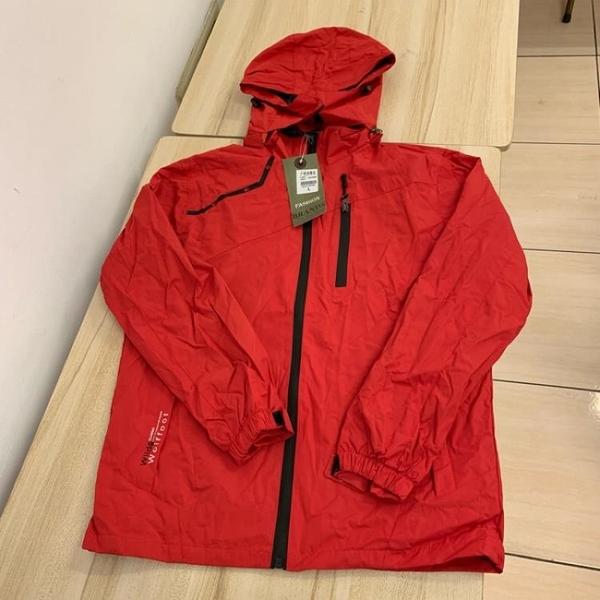 基本款修身休閒連帽風衣外套(L-XL號/121-4744)