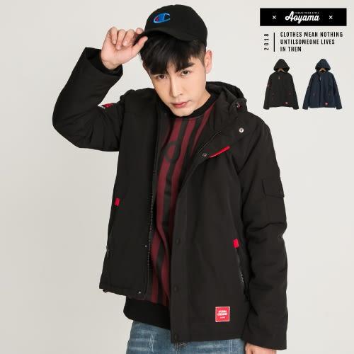 衝鋒外套 遮風擋雨防水保暖軍裝外套【H88178】