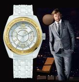 【僾瑪精品】Hugo Boss 透明時尚金框個性休閒男用中性腕錶-42mm/H1502252