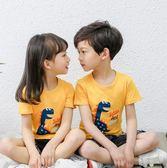 兒童短袖T恤純棉2019新款男童夏裝韓版中小童半袖上衣女孩體恤衫 【熱賣新品】