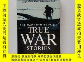 二手書博民逛書店The罕見Mammoth Book of True War Stories : Gripping Tales of