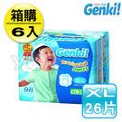 日本 nepia 王子 Genki! 元氣褲/褲型尿布 XL26片(6包箱購)