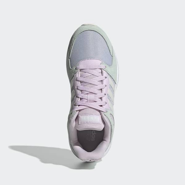 ADIDAS CRAZYCHAOS [EF1048] 女鞋 運動 休閒 復古 經典 撞色 透氣 穿搭 愛迪達 湖水綠