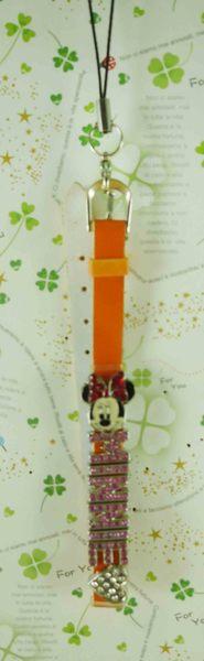 【震撼精品百貨】Micky Mouse_米奇/米妮 ~吊飾-字母英文