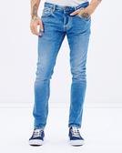 Deus Ex Machina Lander Slim 牛仔褲   騎士衝浪品牌 - (復古藍)