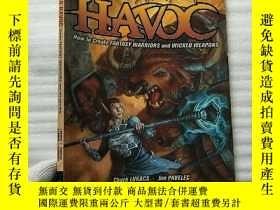 二手書博民逛書店Wreaking罕見Havoc:How to Create Fantasy Warriors and Wicked