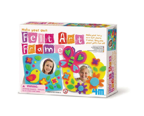 【4M】美勞創作系列-創意布相框 Make Your Own Felt Art Frame 00-04638