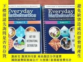 二手書博民逛書店Everyday罕見Mathematics Teachers Reference Manual Grades 1-