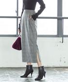 起毛 棉料 彈性材質 長窄裙  日本品牌【coen】