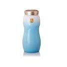 【收藏天地】乾唐軒活瓷系列*大喜悅水瓶 鎏金+白淺水藍款∕按摩 舒緩 碧璽 電氣石 養生