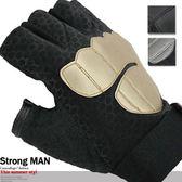 點珠半指款 手套露指短指防滑耐磨防護騎行手套止滑 短手套腳踏車手套