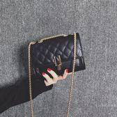 小包包小香風包包女2019秋冬新品潮韓版百搭菱格鏈條單肩斜挎小包包女包【快速出貨】