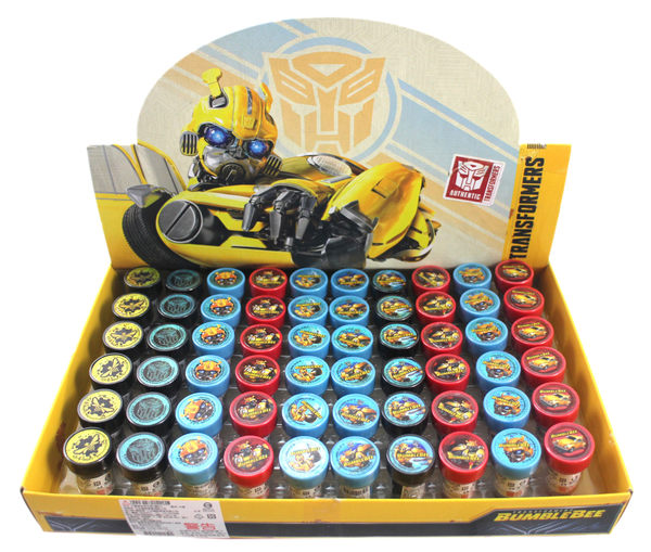 【卡漫城】 大黃蜂 圓形 印章 10個1組 ㊣版 玩具 奬勵圖章 變形金剛 Bumblebee Transformers