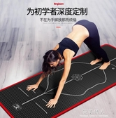 悅步瑜伽墊初學者15MM加厚加寬加長防滑健身墊男女瑜珈墊毯三件套  完美情人YXS